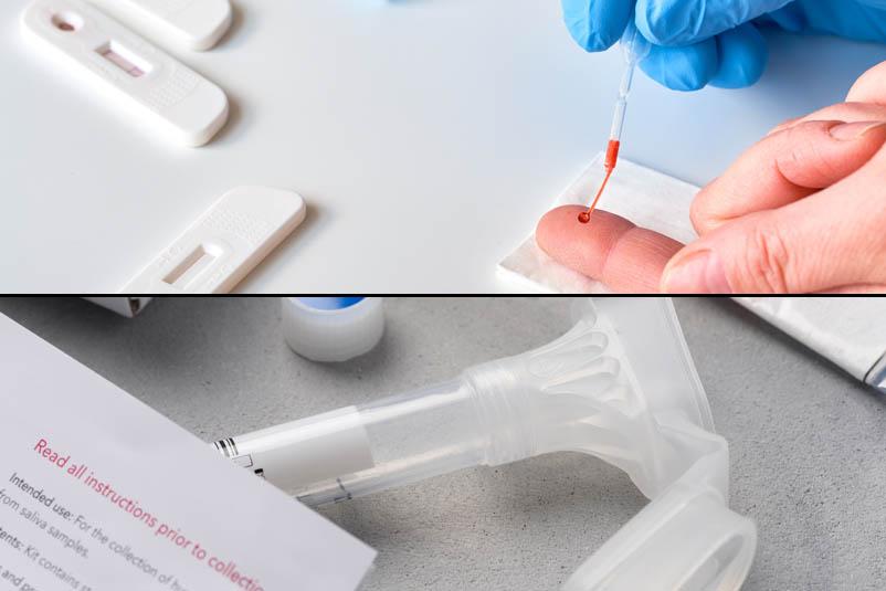 Covid-19 Diagnostic Test Kits Antibody & Antigen or Both